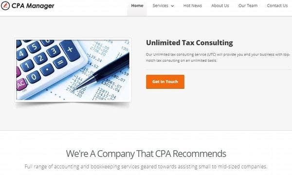 CPA Manager – Cross-browser Compatible WordPress Theme