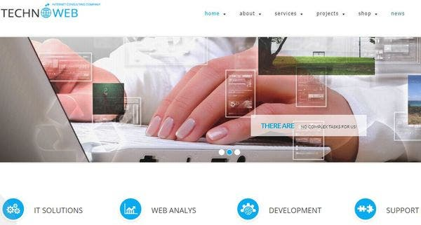 MegaWP TechnoWeb – Visual Composer WP Theme
