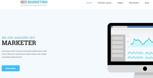 SKT SEO - Sliders Compatible WordPress Theme
