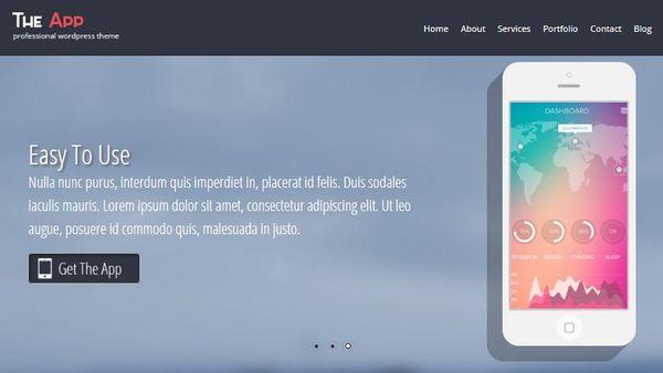 App Pro- HTML5 coded WordPress Theme