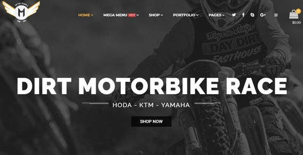 Motor Vehikal – One Click Demo WordPress Theme
