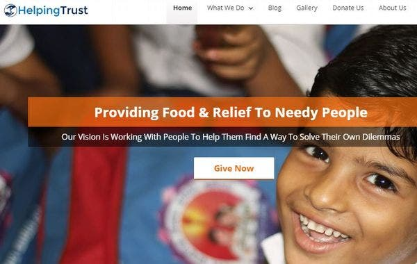 Helping Trust – Video Compatible WP Theme