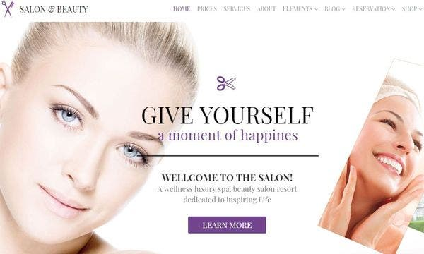 Salon- Spa and Therapy Theme