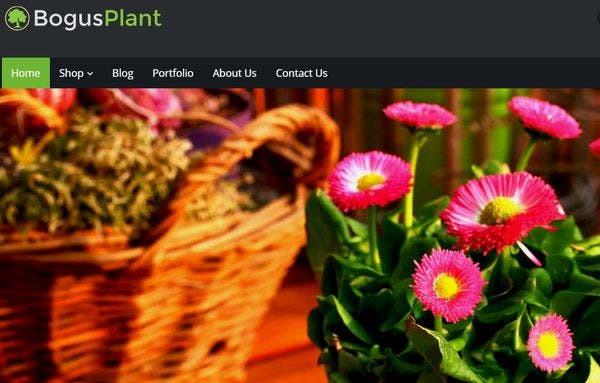 Bogus Plant: High Performance WordPress Theme