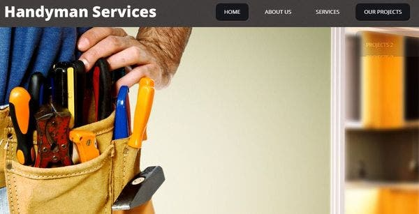 Impressive Handyman Services - Custom Posts and Post Formats WordPress Theme