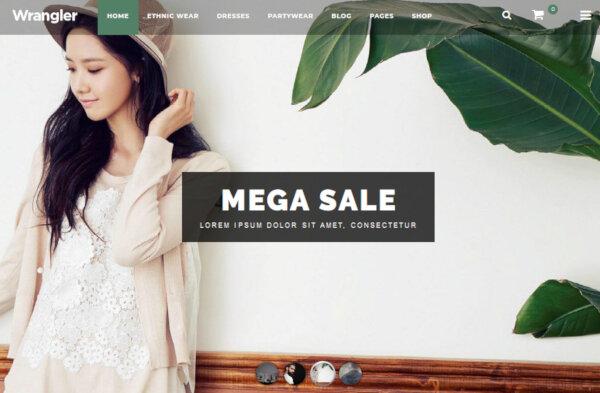 Wrangler – MegaMenu Compatible WordPress Theme