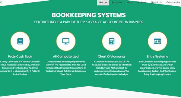 Bookkeeper – Image Slider WordPress Theme