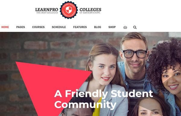 Learnpro – Responsive WordPress Theme