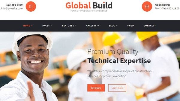 Global Build – WooCommerce WordPress Theme