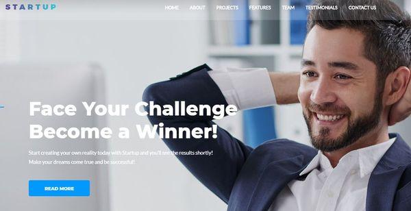 Startup Company – Elementor Page Builder WordPress Theme