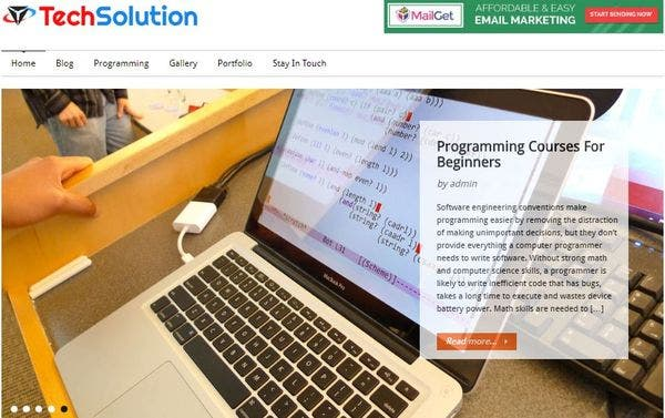 CodeApp – SEO Optimized WordPress Theme