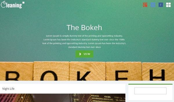 The Bokeh – BBPress Compatible WordPress Theme