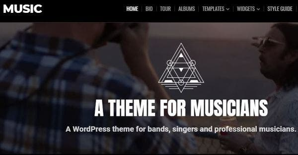 Music Theme – High Quality Code WordPress Theme