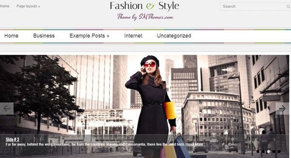 FashionStyle - Dynamic Content Loader Supported WordPress Theme