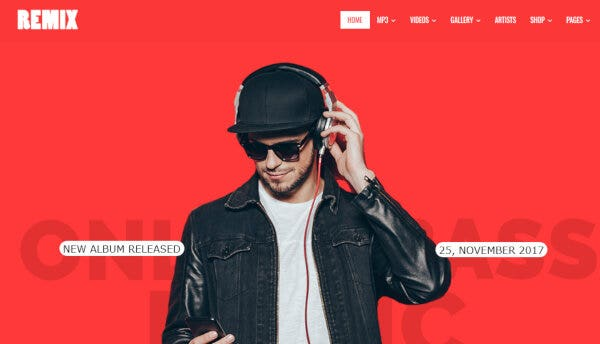 Mix – AJAZ Search Powered WordPress Theme