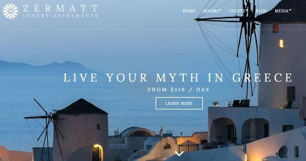 Zermatt- Intuitive and Interactive WP theme