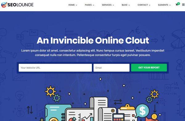 Seolounge -Multiple Widgets Powered WordPress Theme