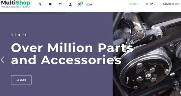 Multishop- Quick View enabled WordPress Theme