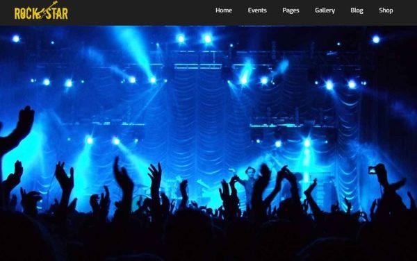 Rockstar- Widget Ready WordPress Theme