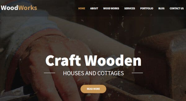 WoodWorks- SMO compatible WordPress Theme