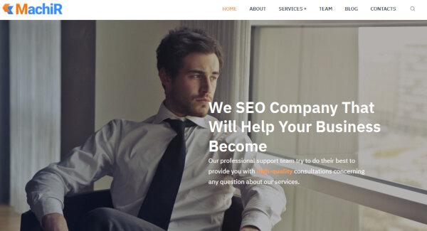 Machir- Ecwid Ready WordPress Theme