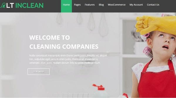 LT Inclean – Bootstrap Compatible WordPress Theme