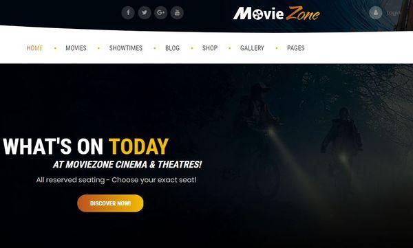 MovieZone – Highly Customizable WordPress Theme