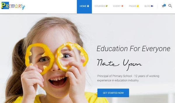 Primary – CSS Animated WordPress Theme