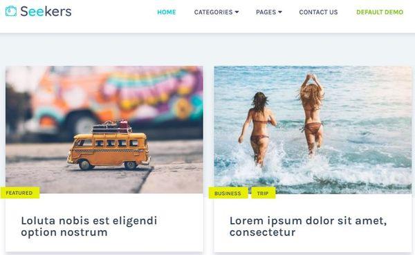 Seekers – Schema Powered WordPress Theme