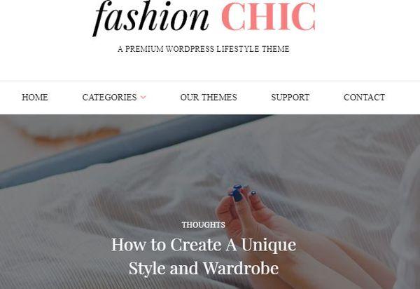 Fashion CHIC- Social Goodies Packed WordPress Theme