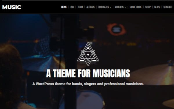 Music – Responsive WordPress Theme