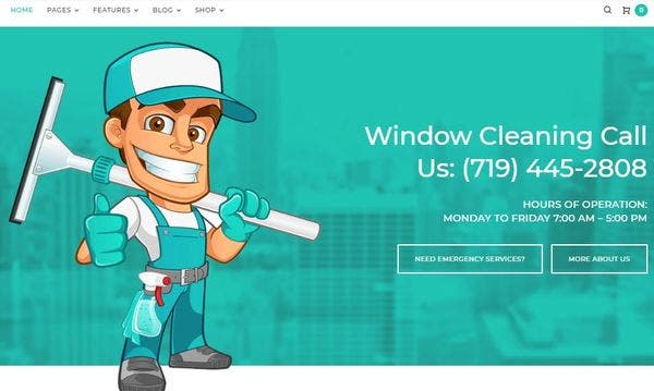 Clearview – AJAX Compatible WP Theme