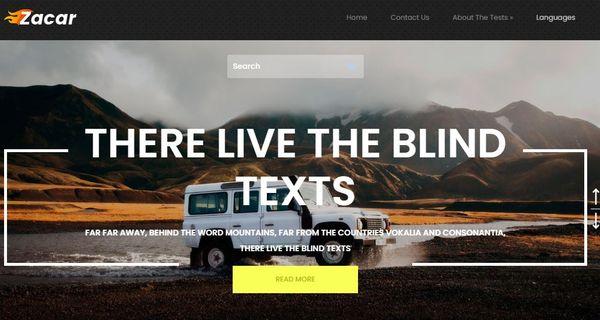 Zacar – Animation Integrated WordPress Theme