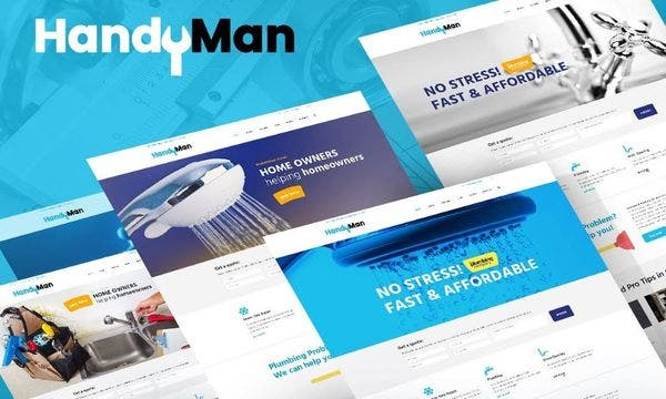 Handyman – PO Composer WordPress Theme