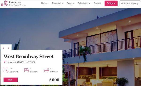Homelist - Mortgage Calculator WordPress Theme