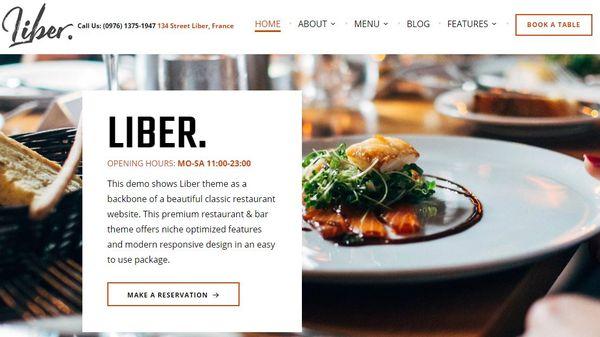 Liber – RTL ready WordPress Theme