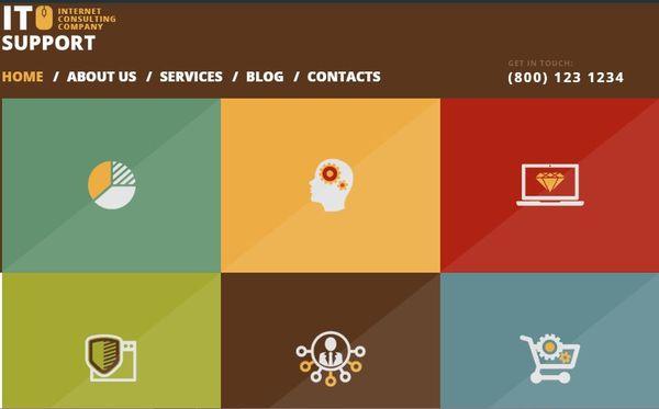Trustworthy IT Company – Fully Editable WordPress Theme