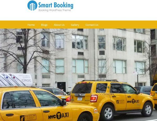 Smart Booking – Slider Ready WordPress Theme