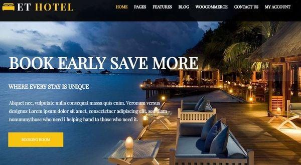 ET Hotel – Genesis Framework WordPress Theme