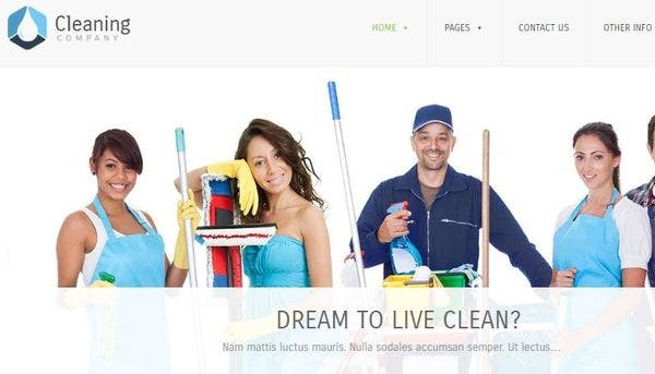 Cleaning Company – Translation Ready WordPress Theme