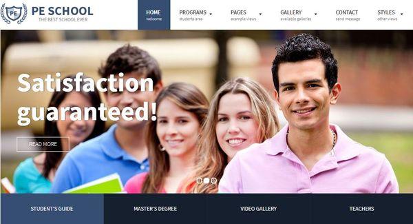 School – WCAG-Ready WordPress Theme