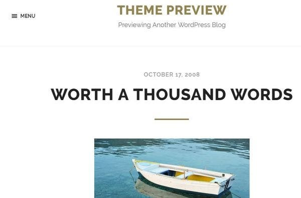 Hoffman – Social Media Integrated WordPress Theme