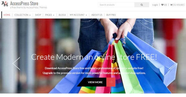 AccessPress Store – YouTube Integrated WP Theme