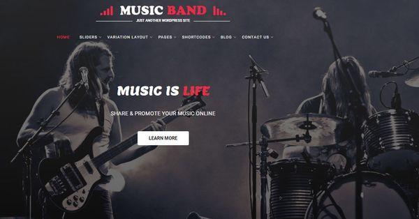 Music Producer- Elementor Powered WordPress Theme