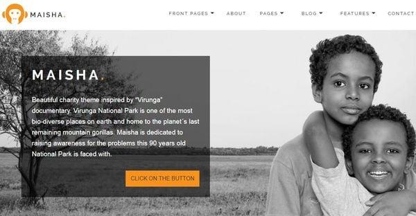 Maisha – Mobile friendly WordPress Theme