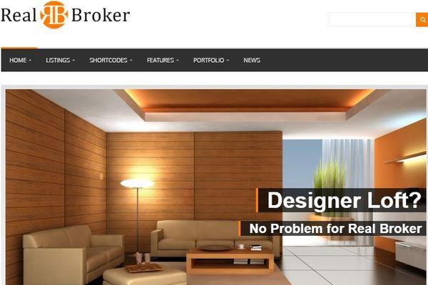 Realbroker – SEO-Optimized Code WordPress Theme