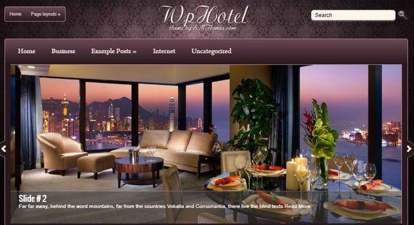 WpHotel – SEO WordPress Theme