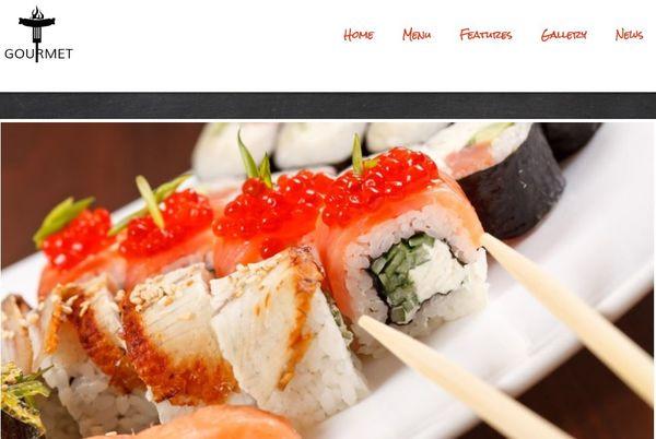 Gourmet – Advanced Typography Featured WordPress Theme