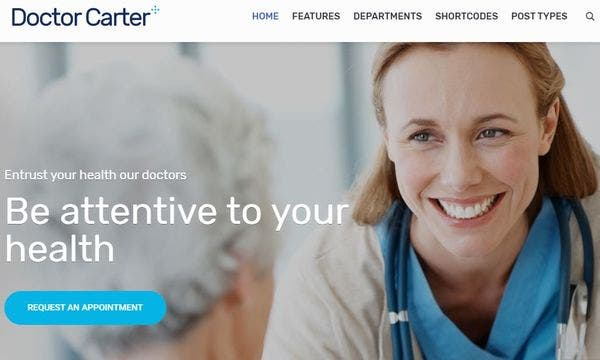 Doctor Carter- Effective WP Theme for Therapists