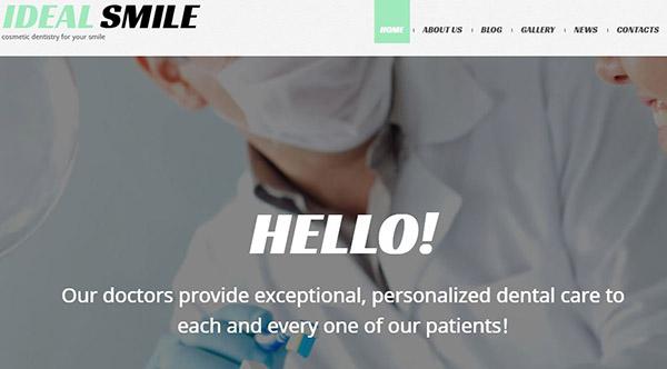 Dentistry – Filterable Portfolio WordPress Theme